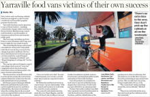 Yarraville food trucks rubbish the age