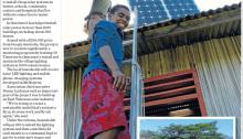 East Timor solar power