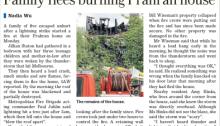 House fire Prahran storm The Age