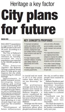 Ballarat city council plan The Courier