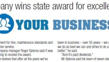 Victorian Hire Company of the Year award Bylsma Hire The Courier